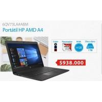 Portátil HP AMD A4